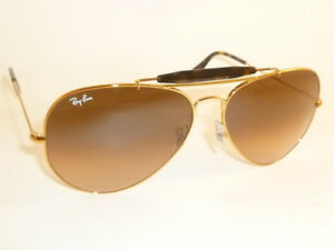 76fbcd1cdb New RAY BAN Sunglasses Bronze OUTDOORSMAN II RB 3029 9002 A5 Brown ...