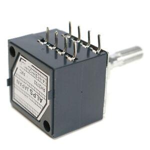 1pc-Potentiometer-250K-Log-ALPS-Audio-Amp-Volume-Control-Pot-Stereo-W-Loudness