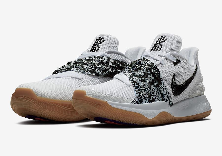 Nike kyrie irving niedrig ao8979 ao8979 niedrig 100  / schwarz / kaugummi sole - - 031a98