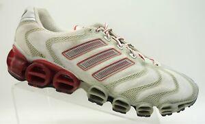 Scarpe 13 Lace Grigio Athletic uomo Adidas Rosso Running allenamento Up da uomo da Sport da fwxq4rf
