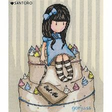 BOTHY THREADS SANTORO GORJUSS SWEET CAKE COUNTED CROSS STITCH KIT XG30