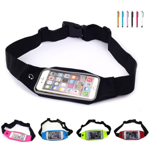 Running Sport Bum Bag Fanny Pack Travel Waist Money Belt Hiking Pouch Wallet US