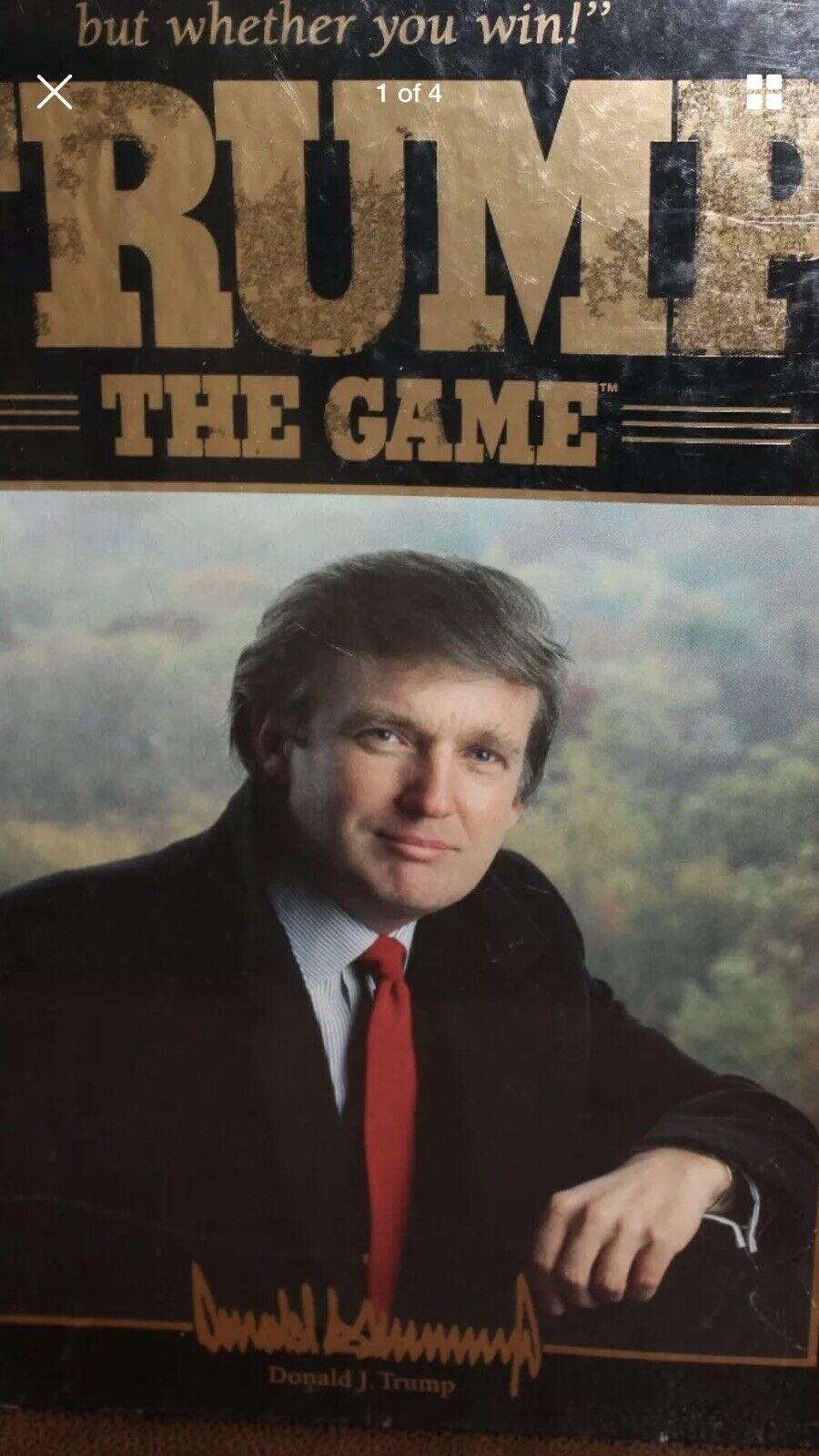 Donald Trump le plateau de jeu game 1989 Président