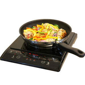 Image Is Loading Portable Induction Cooktop Countertop Single Burner  Stove Top