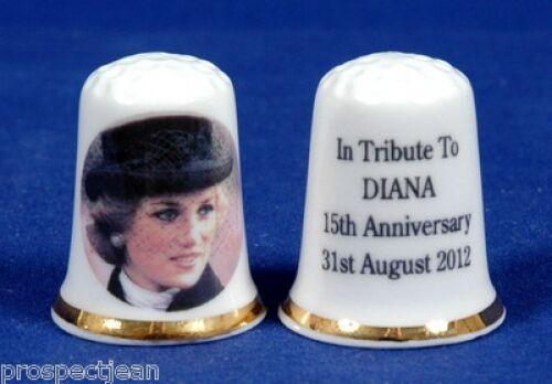 Tribute To Prinzessin Diana 15 91 Jubiläum 31.08.2012 China Fingerhut B