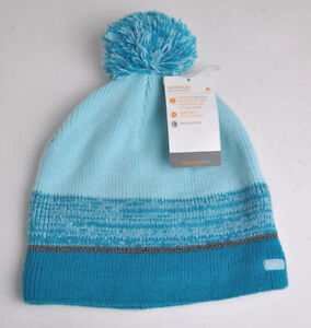a53f6abc7 Details about New C9 Champion VENTUREWarm Aqua KNIT Winter BEANIE Fleece  LINED Hat NWT Cap