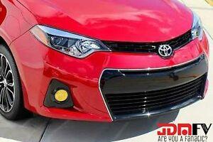 14-16 Corolla Yellow Fog light Overlays TINT Wrap TRD P