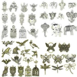 123-stili-Tibetan-Silver-ANIMALI-tema-Charms-Ciondolo-carfts-gioielli-fai-da-te