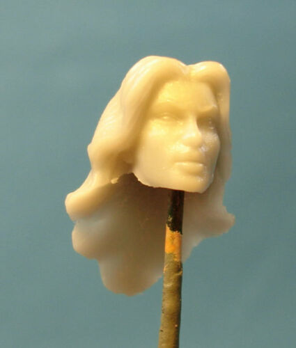 "FH070 Custom Cast Sculpt part Female head cast for use with 3.75/"" action figures"