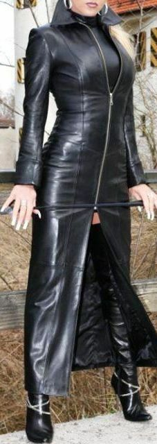ny Long Trench Coat Dress kvinnor Ladies Lambskin läder Designer Dress Pkonsty 72