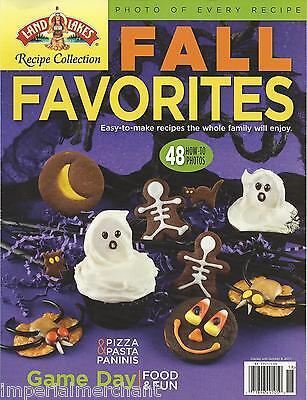 Fall Favorites magazine Halloween Easy recipes Pizza Pasta Paninis Game day fun
