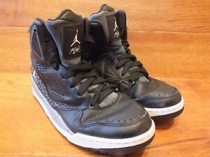 info for 4dd52 a4803 Image is loading Nike-Air-Jordan-SC-3-Flight-Black-Mid-