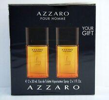 Azzaro Pour Homme  60 ml  (2x 30ml)   Eau de Toilette Spray Reisegröße NEU Folie