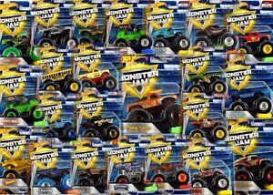 Hotwheels-Confiture-de-Monstre-amp-Monster-Trucks-Nombreux-Choix-de