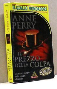 IL PREZZO DELLA COLPA - A. Perry [I ediz. Il Giallo Mondadori gennaio 1999]