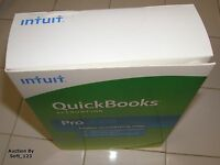 Intuit Quickbooks Pro 2009 For Windows Full Retail Us Version =new Sealed Box=