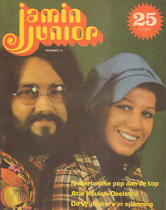 MAGAZINE-JAMIN-JUNIOR-1972-nr-11-MOUTH-amp-McNEAL-COVER-ATJE-KEULEN-DEELSTRA
