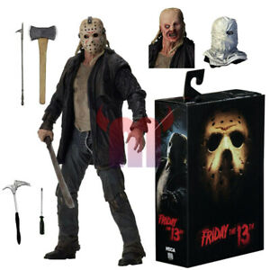 NECA-Friday-the-13th-2009-Movie-Jason-Voorhees-Ultimate-7-034-Action-Figure-NIB