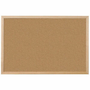 Image Is Loading Large Cork Notice Board 900 X 600 Mm