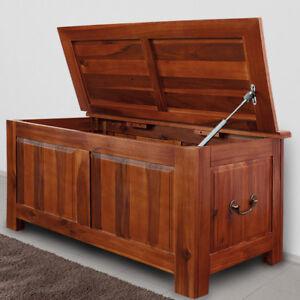 holztruhe tischtruhe sitzbank truhe w schetruhe holzkiste kommode couchtisch ebay. Black Bedroom Furniture Sets. Home Design Ideas