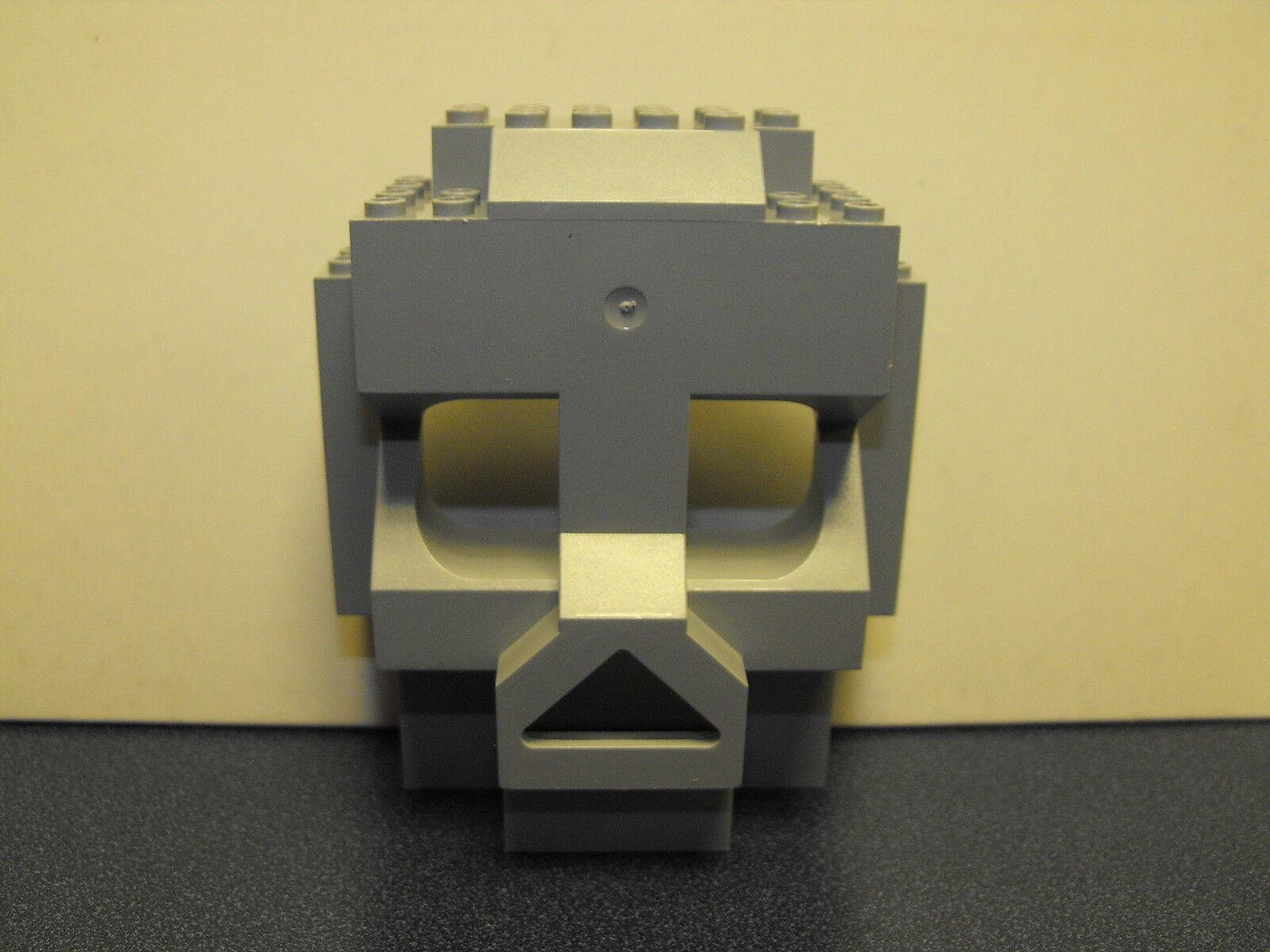 LEGO Light Gray Rock Panel Lot of 4x10x10 Castle SKULL ISLAND 3827 2