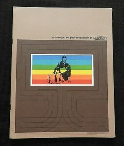 1969 1970 DRESSER INDUSTRIES ANNUAL REPORT STOCK HOLDER PORTFOLIO DALLAS TX NRMT