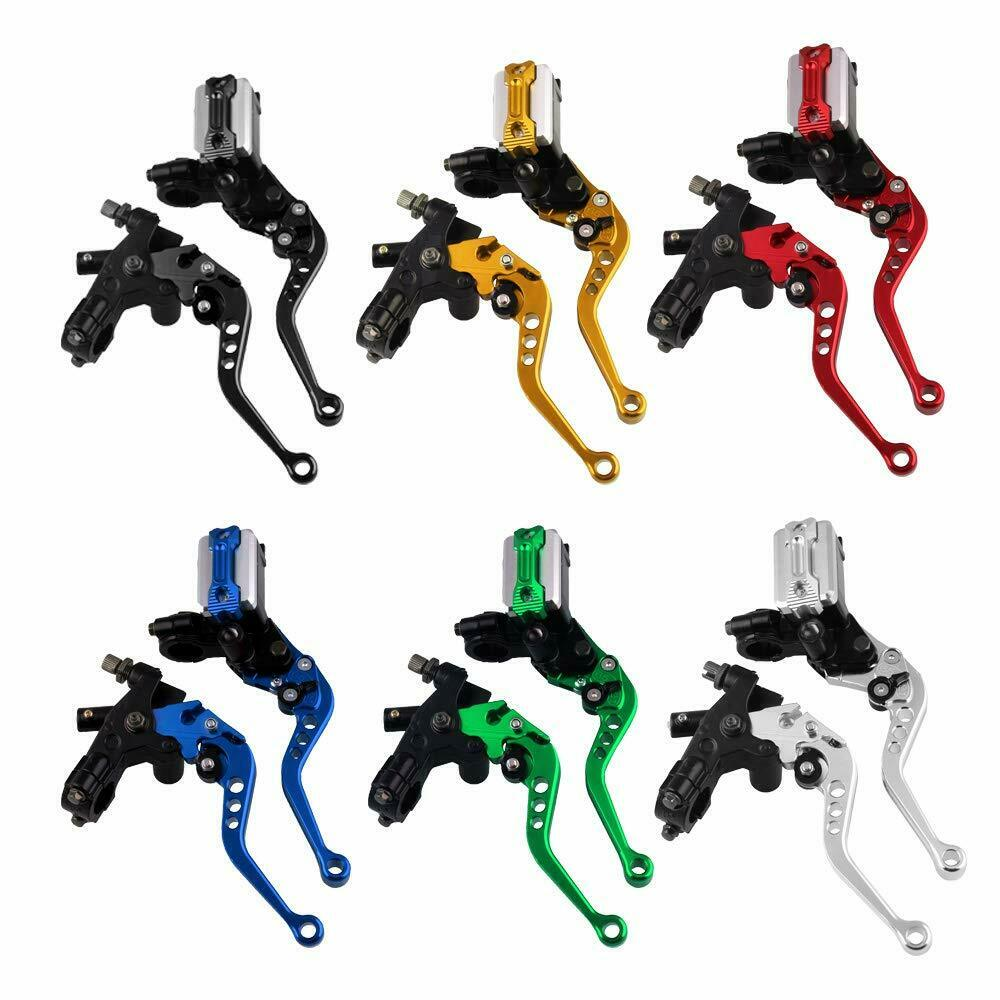 746   universal motorcycle 7  8  cnc front brake clutch master cylinder lever set  cheap