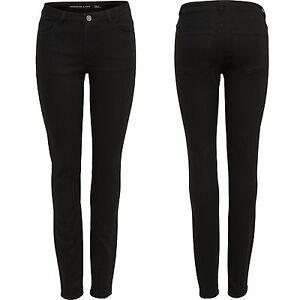 Only-by-JDY-Damen-Jeans-Skinny-Regular-Stretch-Hose-Holly-Schwarz-Black-Neu-SALE