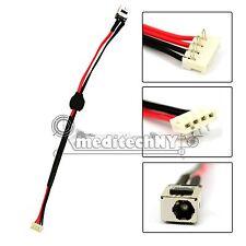 NEW! OEM TOSHIBA SATELLITE A500 L455 L455D L555 L555D DC POWER JACK W/ CABLE