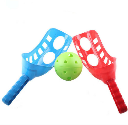 Fun-Air Scoop Ball Toss Ball Game Set of 2 Scoops and 1 Ball