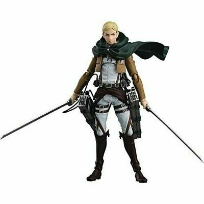 MAX FACTORY figma Attack on Titan Erwin Smith Action Figure PVC 4545784066133