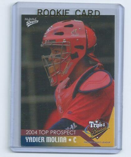 Yadier Molina 2004 Multi Ad Pacific Coast League RC Rookie Card #25