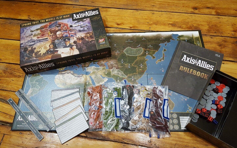 Axis & Allies  1942 (juego de mesa, 2009 impresión) Avalon Hill Wizards of the Coast