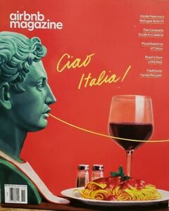 Airbnb Magazine Oct Nov 2019 Guide to Calabria Pizza of Tokyo FREE SHIPPING CB