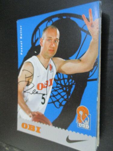 93503 Pascal Roller DBB Basketball original signierte Autogrammkarte