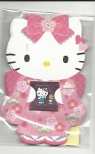 Sanrio Hello Kitty Gift Card Money Holder Set of 4 With Envelope Stickers Pink