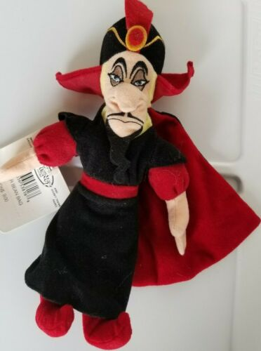 a Disney Jafar Mini Bean Bag Beanie NWT Aladdin