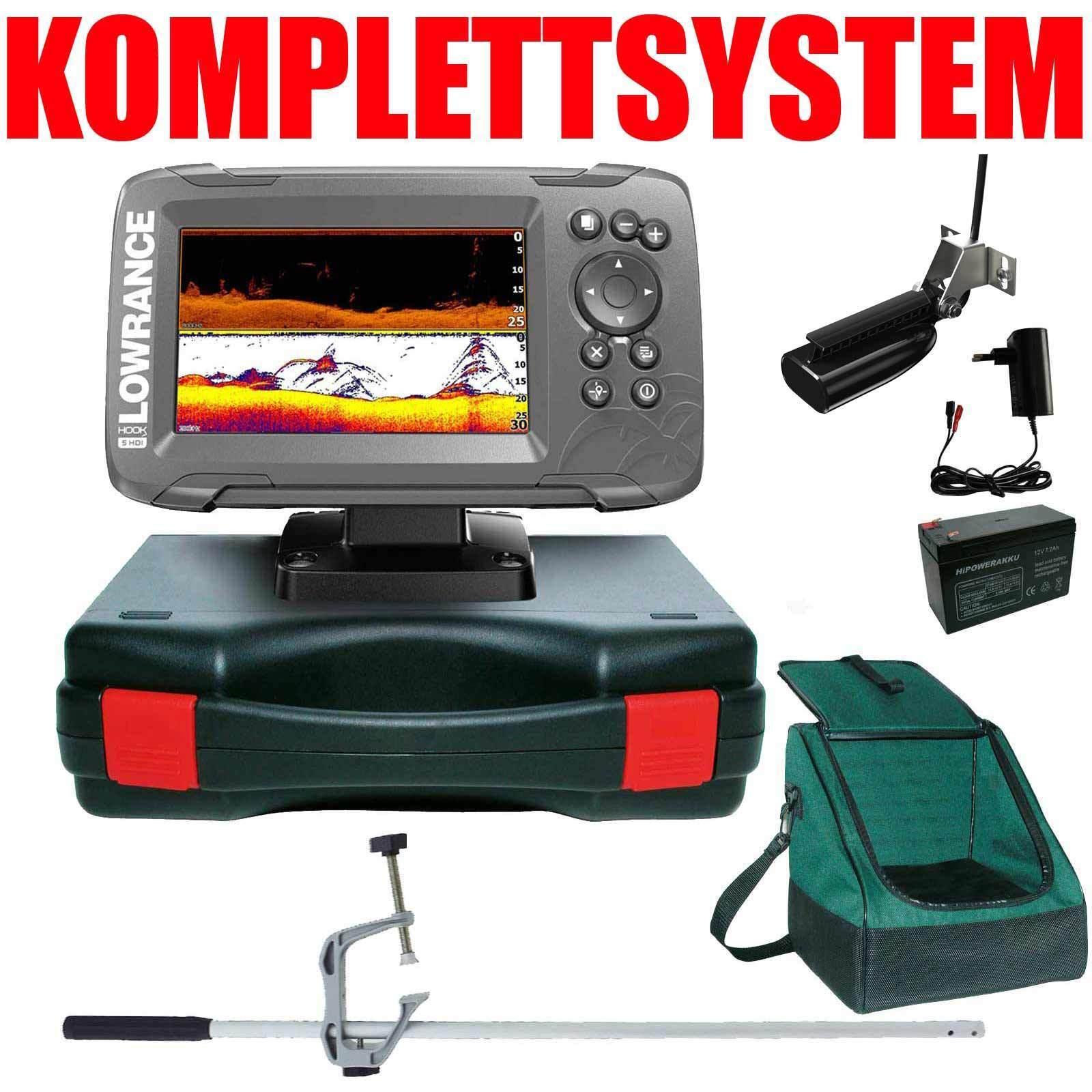 Niedrigrance Echolot GPS Portabel Master Plus Hook2 5 GPS SplitShot HDI CHIRP Combo GPS 5 f89177