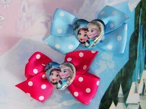 Disney-Frozen-Princess-Anna-Elsa-Inspired-Handmade-Hair-Clips-Doll-Costumes