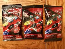 Mattel Disney Pixar Cars 3 MINI RACERS Die-Cast Car Blind Bag Lot of 3 Three