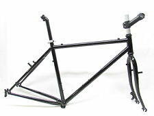 RSP RALEIGH TOURING FRAMESET 4130 CROMOLY D/BUTTED VINTAGE / NOS RETRO NEW