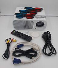 1080P 3D 2600Lumen Projector Home Theater Cinema LED LCD HD HDMI VGA AV TV VGA