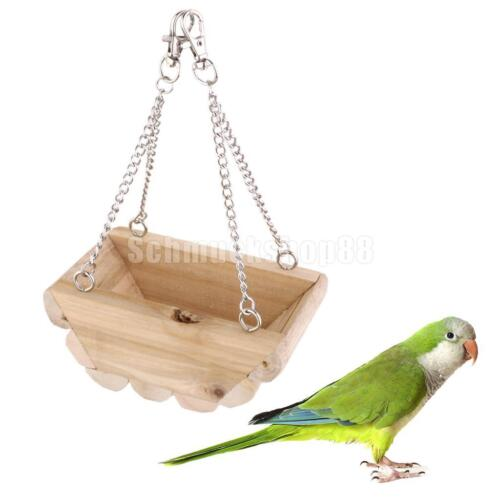 Haustierbedarf Vogelspielzeug Boot Schaukel Papage für Maus Papagei Vogel Katze Hamster Spielzeug