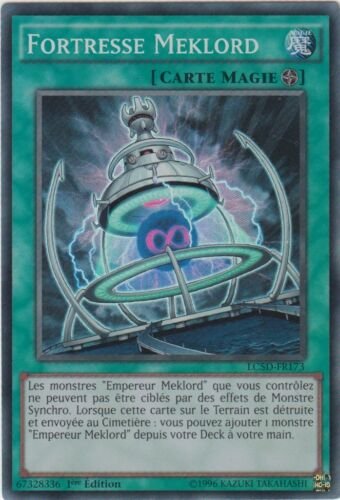 LC5D-FR173 VF//SUPER RARE ♦Yu-Gi-Oh!♦ Forteresse Meklord//Fortress