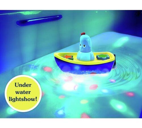 In The Night Garden Iggle Piggle jeux de lumière Salle de Bain Time Boat Love Igglepiggle