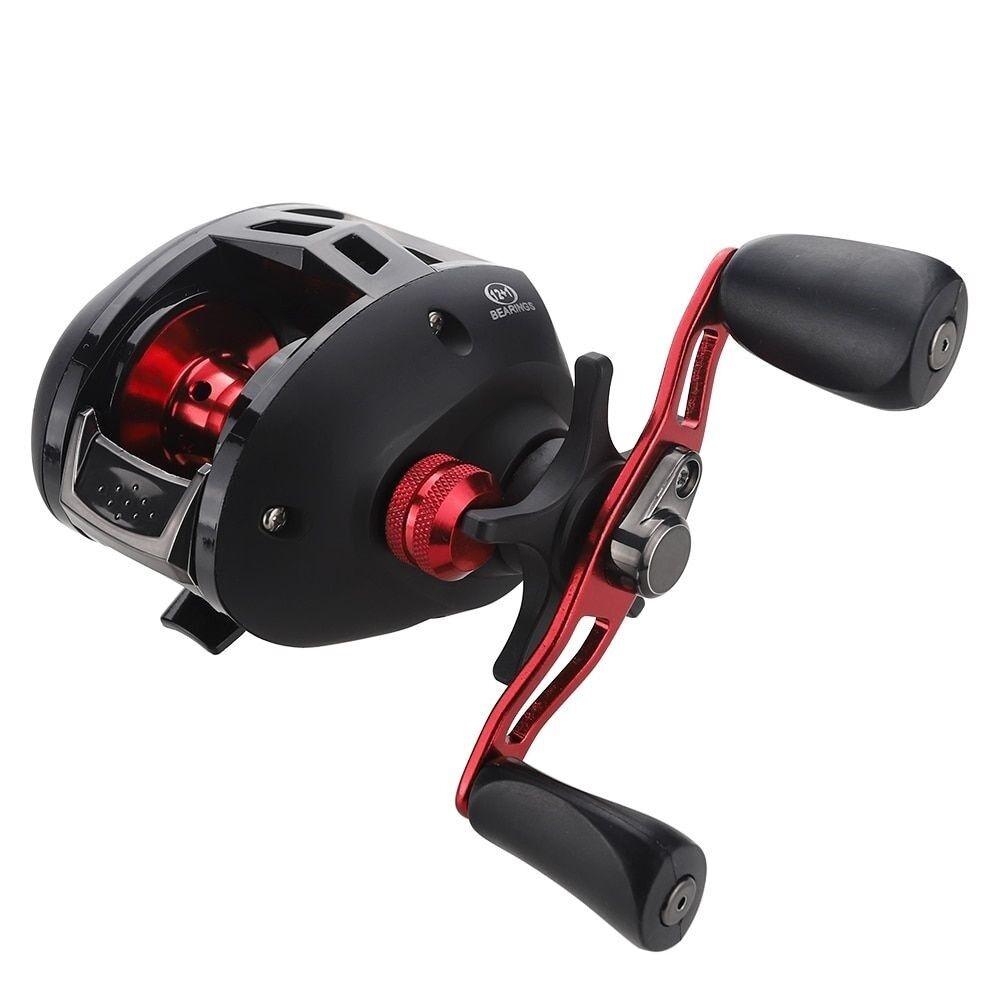 Bait Bait Bait Casting Reel 12+1BB Right/Left Handle Fishing Aluminum Spool Carp 7.3:1 4665bb