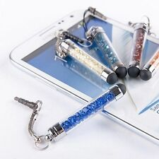 Mini Magic Attractive Styluses Dust Plug Diamond Crystal Stylus Touch Screen Pen
