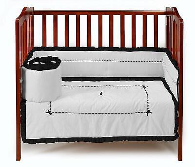 White Baby Doll Bedding Candyland Cradle Bedding Set