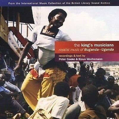 The King's Musicians Royalist Music Of Buganda-Uganda CD NEW SEALED 2003