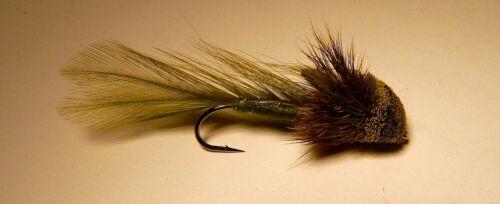 Whitlock Matuka Sculpin Olive #2 Salmon Steelhead